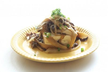 大阪、天王寺、野菜、和食、料理教室、健彩青果、大畑千弦、簡単すき焼き冷奴レシピ、絹ごしどうふ、木綿豆腐