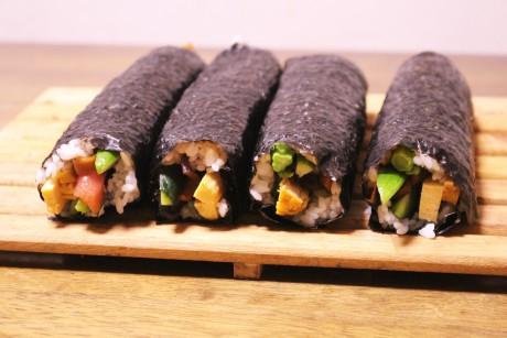 巻き寿司、大阪、天王寺、健康、野菜、和食、料理教室、健彩青果、大畑千弦、レシピ