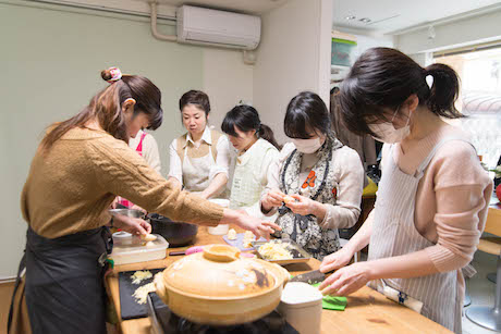 たけのこふきのとう香川農家料理教室1