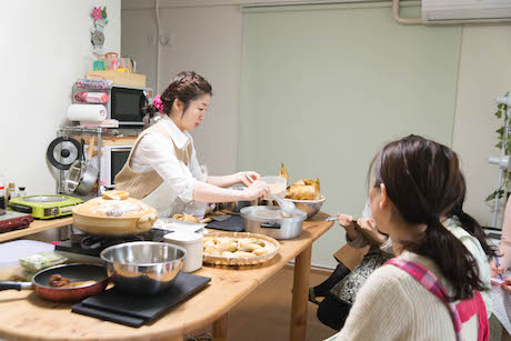 たけのこふきのとう香川農家料理教室、大阪