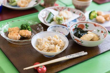 たけのこふきのとう香川農家料理教室7