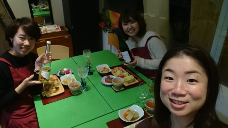 大阪、天王寺、健康、野菜、和食、料理教室、健彩青果、大畑千弦、レシピ、リースリング