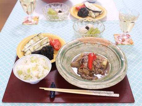 大阪、大阪、天王寺、健康、野菜、和食、料理教室、健彩青果、大畑千弦、レシピ、ふき、のびすぎでんねん
