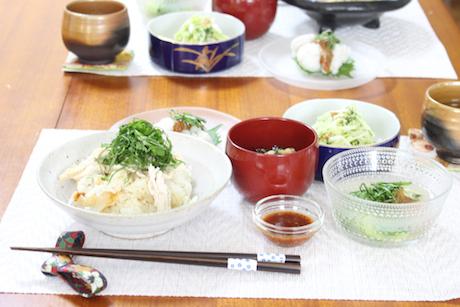 大阪、天王寺、健康、野菜、和食、料理教室、健彩青果、大畑千弦、レシピ、青じそ、やさい料理研究家
