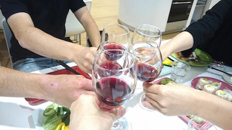 ボジョレーヌーボ、大阪、天王寺、健康、野菜、和食、料理教室、健彩青果、大畑千弦、レシピ