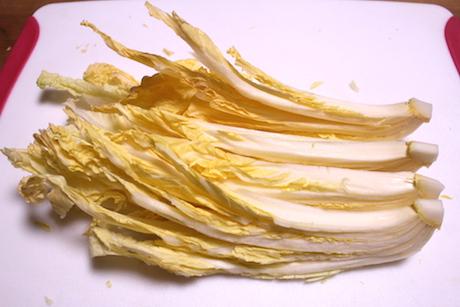 白菜の切り方3