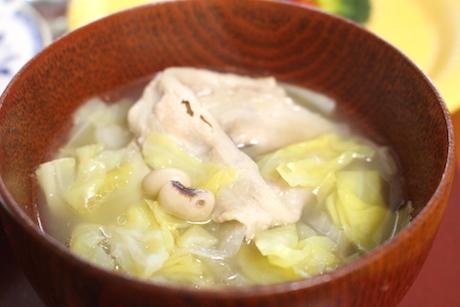 松波キャベツ、大阪、料理教室、レシピ、大畑ちつる、料理研究家、和食、野菜