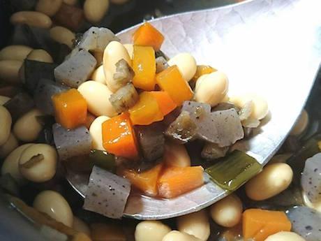 五目豆、大阪、天王寺、健康、野菜、和食、料理教室、健彩青果、大畑千弦、レシピ