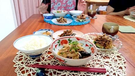 レシピ、新ゴボウ鰻卵とじ柳川、大畑ちつる、なにわ料理、天王寺、やさい、野菜料理、健康、天王寺料理教室、大阪料理教室