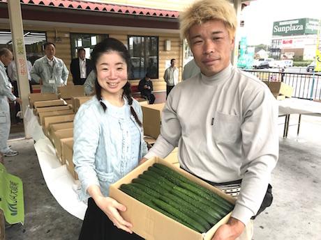 大阪きゅうりキュウリ、大阪、天王寺、健康、野菜、和食、料理教室、健彩青果、大畑千弦、レシピ