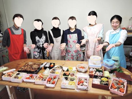 大阪、天王寺、健康、野菜、和食、料理教室、健彩青果、大畑千弦、レシピ、おせち